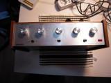 Amplificator VINTAGE de colectie URANYA A1008, 350x210x110 mm, DEFECT, complet