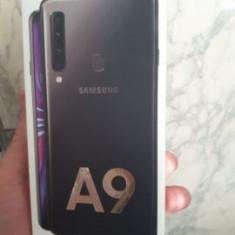 Samsung Galaxy A9 (2018) 6 GB RAM, 128 GB. intern, 2 ani garantie, factura., Negru, Neblocat, Smartphone