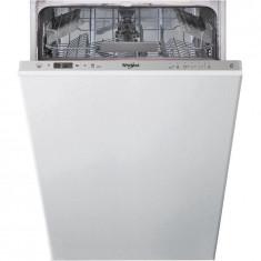Masina de spalat vase incorporabila Whirlpool WSIC 3M17, 10 seturi, 6 programe, clasa A+