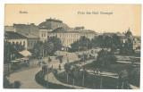2579 - BRAILA, Market, Romania - old postcard, CENSOR - used - 1917