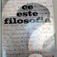 CE ESTE FILOSOFIA?-CLARA DAN,BUCURESTI 1970
