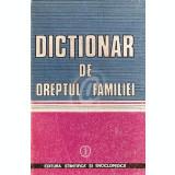 Dictionar de dreptul familiei