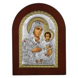 Icoana Maica Domnului de la Ierusalim 10x14cm Auriu COD: 1510