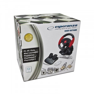 VOLAN CU PEDALE PC/PS2/PS3 HIGH OCTANE