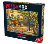 Cumpara ieftin Puzzle Anatolian Brasserie des arts, 500 piese