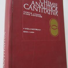 Chimie Analitica Cantitativa - Volumetria - Candin Liteanu