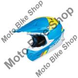 MBS SCOTT MX HELM 350 PRO TROPHY lightblue/yellow, hellblau/gelb, S=55-56, 15/040, Cod Produs: 2374723087SAU