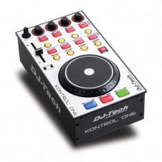Dj controller MIDI, 21 butoane, comutator rotativ Deck Select, DJ-Tech