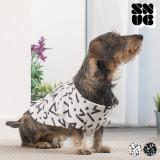 Pătură cu Mâneci pentru Câini Symbols Snug Snug One Doggy