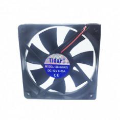 Cooler Ventilator din Plastic 12V 0.25A 120x120x25mm Tidar