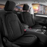 Huse scaune Editie Black din Piele Premium - Duster II (2018-2020)