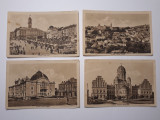 CERNAUTI - BUCOVINA - ILUSTRATE INCEPUT DE 1900 - LOT 4 BUCATI