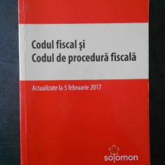 CODUL FISCAL SI CODUL DE PROCEDURA FISCALA (2017)