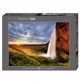 Cumpara ieftin Puzzle Heye Seljalandsfoss Waterfall, 1000 piese