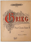 GRIEG - PEER GYNT: SUITE II - PARTITURI ANTEBELICE