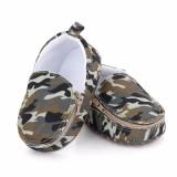 Cumpara ieftin Pantofiori tip mocasini - Army (Marime Disponibila: 6-9 luni (Marimea 19...