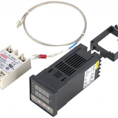 CONTROLER regulator TEMPERATURA termostat DIGITAL 220V cu sonda releu REX C100
