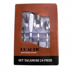 SET TACAMURI 24 PIESE INOX