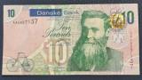 Irlanda de Nord 10 pounds lire 2013 Danske Bank