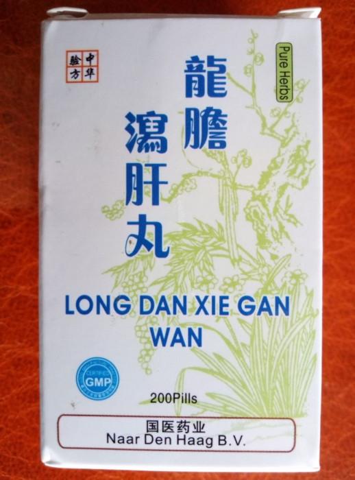 LONG DAN XIE GAN WAN - produs din plante naturale pentru ficat