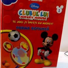 CLUBUL LUI MICKEY MOUSE , TE JOCI SI INVETI CU MICKEY ! FORMA ROTUNDA