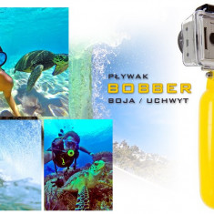 Maner Plutitor pentru Camera GoPro Hero, Culoare Galben