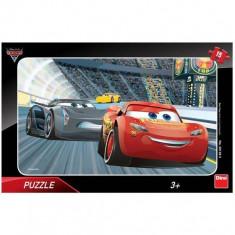 Puzzle clasic pentru copii 15 piese, Fulger McQueen Cars