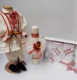 Cumpara ieftin Set Botez Traditional Raul 15 - 3 piese Botez Traditional : costumas , trusou si lumanare