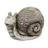 Cumpara ieftin Decoratiune gradina, ceramica, melc, 33x19.5x22 cm, Strend Pro