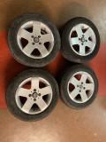 """4 roti Alessio, 14"""" , 4x100 - merg pe Dacia, VW, Opel si altele, 6"""