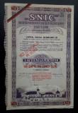 Actiuni 1935 Soc. pt îmbunătățirea rasei cailor - titlu - actiune - hipica