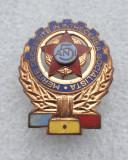 Insigna - Merite deosebite in intrecerea socialista - 5 ani