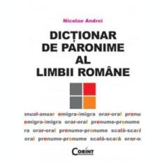 Dicționar de paronime al limbii române