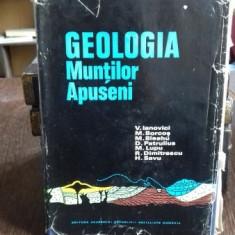 GEOLOGIA MUNTILOR APUSENI - V. IANOVICI