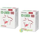 Es-Liver 100 30cps Pachet 1+1