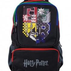 Ghiozdan Harry Potter GSHR, pentru baieti, clase gimnaziu, buzunar laptop