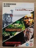 The Terminator/Predator/Commando - The Schwarzenegger Collection  -  DVD