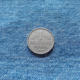 1 Deutsche Mark 1950 F Germania marca RFG