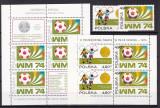 Polonia  1974  sport  fotbal  MI 2315-16  + 2 bl.59,60   MNH   w59