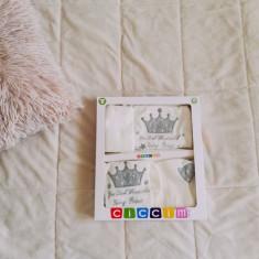 Set Bebe 5 Piese Crown Princes, Din imagine