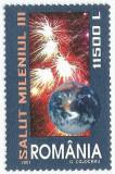 Romania, LP 1539/2001, Salut Mileniul III !, MNH
