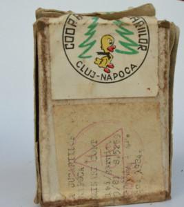 Suporti lumanari tort Coop Arta Jucariilor Cluj, anii '70
