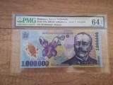 Romania - 1000000 lei 2004, serie Z (replacement note), gradata 64 de PMG!