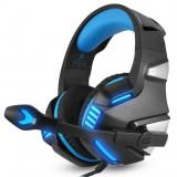 Casti gaming pentru jocuri Hunterspider V3 3,5 mm, cu microfon, LED, pentru PC PS4 Xbox one