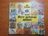 Carte pentru copii - zece prieteni mititei - din anul 1990