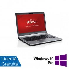 Laptop FUJITSU SIEMENS E734, Intel Core i5-4310M 2.70GHz, 16GB DDR3, 120GB SSD, 13.3 inch + Windows 10 Pro, 16 GB