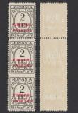 TAXA DE PLATA 1931 SUPRATIPAR TIMBRUL AVIATIEI EROARE NEDANTELAT ORIZONTAL MNH, Nestampilat