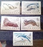 Rusia 1971 fauna polara, foca, pesti , animale  serie 5v mnh