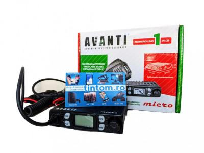 Statie Radio CB AVANTI Micro 4W Autosquelch * Editie noua 2021 * foto