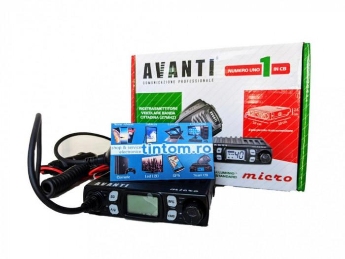 Statie Radio CB AVANTI Micro 4W Autosquelch * Editie noua 2021 *